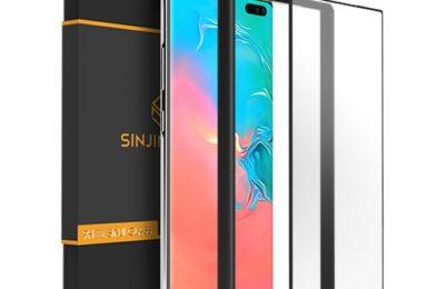 신지모루 3세대 플렉시블 풀커버 휴대폰 액정보호필름 9,900원